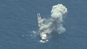 'Multi-Domain' Demonstration at RIMPAC: Target Ship Struck from Sea, Air, and Land