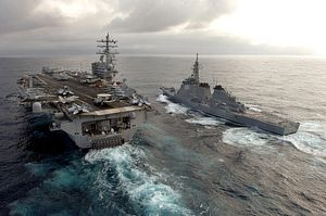 How Defending Fishing Groups Factors Into Japan's Naval Development