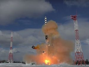 Russia Completes Ejection Tests of RS-28 Sarmat ICBM