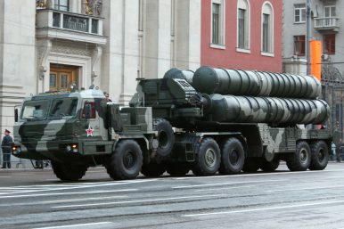 Russia's Military Receives Additional New S-400 Long-Range Air Defense Regiment