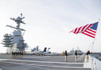 The US Navy's $13 Billion Supercarrier Inches Closer to Combat Deployment