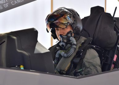 South Korea F-35A Pilot Flies First Solo Mission