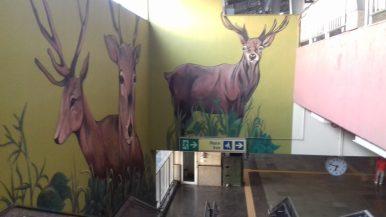 Art in the Delhi Metro