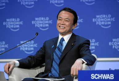 Large and in Charge: Who is Taro Aso?