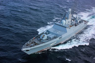 Russian Navy Commissions New Stealth Frigate