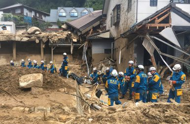 Torrential Rain Devastates West Japan With Mounting Death Toll