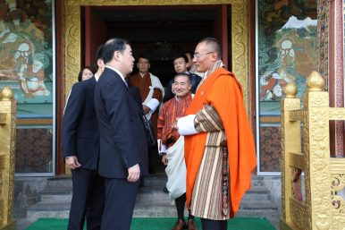 Chinese Vice Foreign Minister Visits Bhutan in First High-Level Interaction Since the 2017 Doklam Standoff
