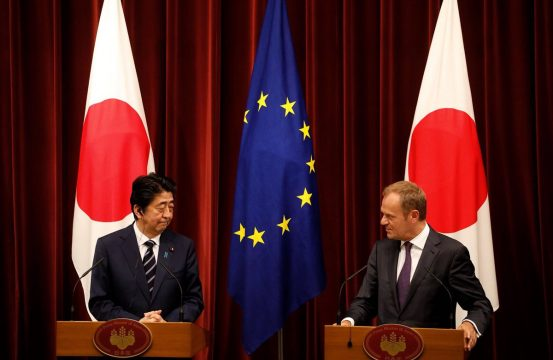 Largest Bilateral Free Trade Agreement Japan Eu Conclude Bilateral