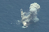 'Multi-Domain' Demonstration at RIMPAC: Target Ship Struck from Sea, Air, and Land