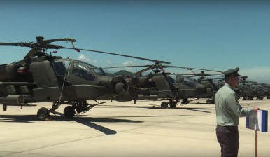 Taiwan Stands Up 1st Apache AH-64E Attack Helicopter Brigade