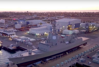 Australia's Second Air-Warfare Destroyer Handed Over to Department of Defense