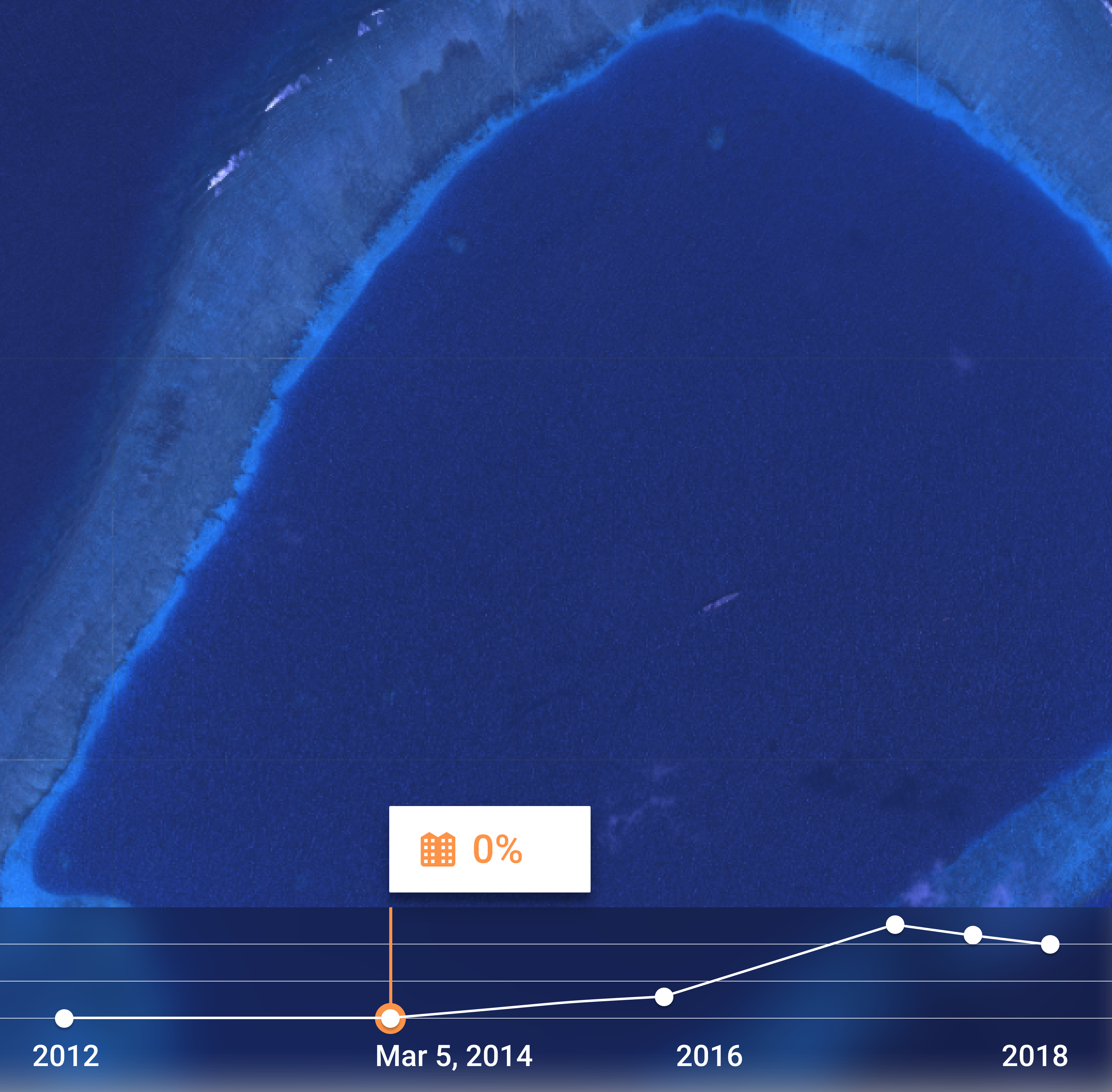 China's Island Build-Up: The View From Space
