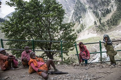 Journey to a Cave in Kashmir