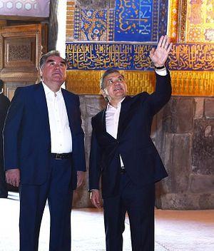 Security Matters Top Uzbekistan-Tajikistan Agenda