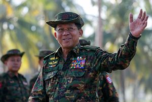 Facebook May Have Doomed the Political Career of Myanmar's Top General