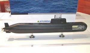 South Korea to Launch First 3,000-ton KSS-III Diesel-Electric Attack Sub Next Month