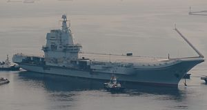 China's New Aircraft Carrier Sets Out for Second Round of Sea Trials