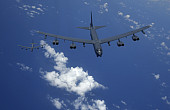 US Air Force Flies Another B-52H Bomber Mission Over South China Sea