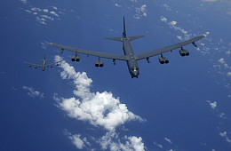 US Flies 2 B-52H Bombers Over East and South China Seas
