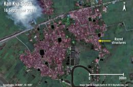 A Satellite View of the Rohingya's Plight
