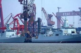 China Launches 14th Type 052D Guided Missile Destroyer