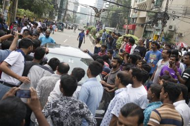 Students Protest Against Reckless Driving Roil Bangladesh