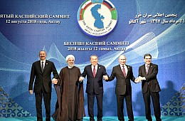 Caspian Sea Dispute Settled on the Surface