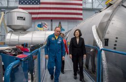 Don't Miss the Significance of Taiwanese President Tsai Ing-wen's NASA Visit