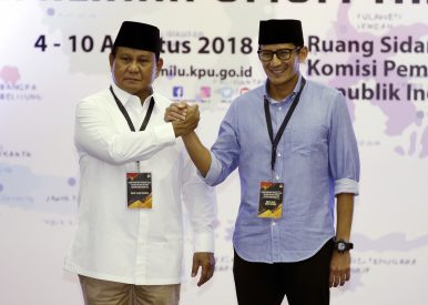 Indonesia's Presidential Elections Could Set Jakarta Back