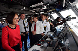 Singapore Launches Seventh New Warship