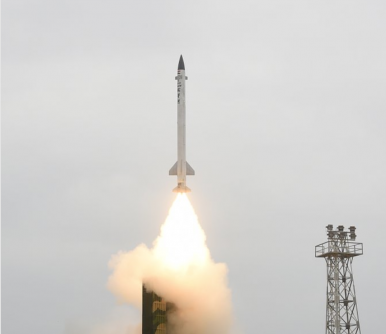 India's Advanced Air Defense Interceptor Shoots Down Ballistic Missile Target in Test