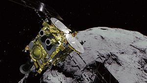 Japan Heads for the Moon