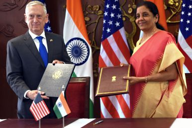 COMCASA: Another Step Forward for the United States and India