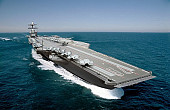 US Navy's Next Supercarrier 50 Percent Complete