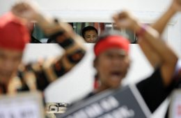 Indigenous Groups Descend on Manila Court to Protest Terror-List