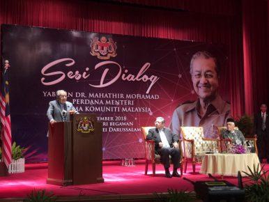Mahathir Visit Spotlights Malaysia-Brunei Relations