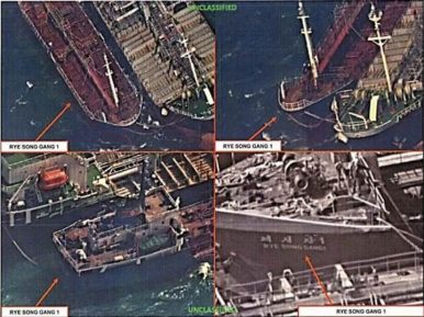 Fake Flags: At-Sea Sanctions Enforcement and Ship Identity Falsification