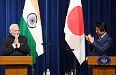 Abe, Modi Herald 'Unparalleled Potential' in Japan-India Relations