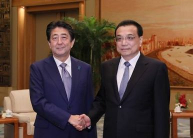 Abe Wants 'New Era' in China-Japan Relations