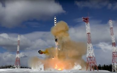 Russia's RS-28 Sarmat ICBM to Enter Serial Production in 2021