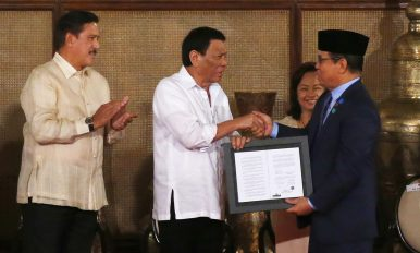 Bringing Peace to the Philippines' Troubled South: The Bangsamoro Organic Law