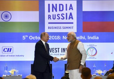 India, Russia Sign $5.5 Billion S-400 Deal During Modi-Putin Summit