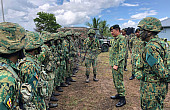 Defense Minister Introductory Visit Highlights Malaysia-Brunei Military Ties