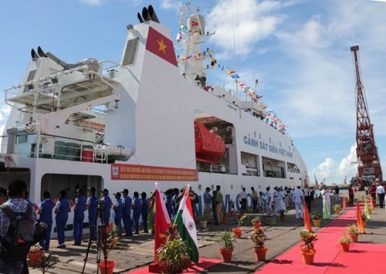 Coast Guard Visit Highlights India-Vietnam Maritime Cooperation