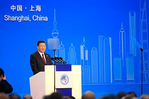 China Opens First Import Expo With Veiled Warning to Trump