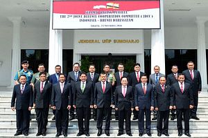 Indonesia-Brunei Security Relations in Focus with Air Force Chief Introductory Visit
