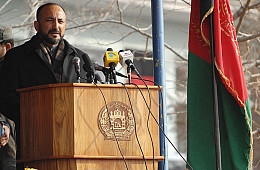 Afghanistan's Most Powerful Person Announces Bid for April Presidential Elections
