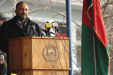 Afghanistan's Most Powerful Person Announces Bid for April