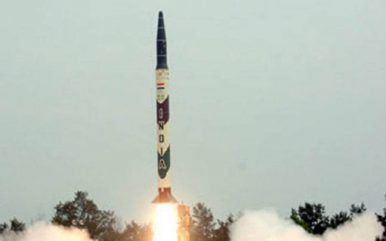 India Conducts Nighttime User Trial of Agni-I Nuclear-Capable Ballistic Missile