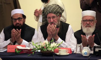 The 'Father of the Taliban' Is Dead. What Does That Mean for the Afghan Peace Process?